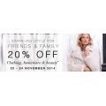 Marks and Spencer - 20% Off Clothing, Homeware  & Beauty Products (code) ! Ends 24 Nov