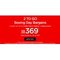 AirAsia 2 to Go Boxing Day Promo: Eg: Sydney > Kuala Lumpur $369 for 2 people