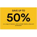 David Jones - Mid Season Sale: Up to 50% Off Fashion, Footwear, Homeware, Bedding, Electrical etc. (In-Store & Online)