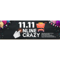 "MSY - 11.11 Singles Day Online Frenzy e.g. Logitech Wireless Mouse M238 $9 (Was $24.95); Samsung Galaxy Tab A 8.0"" Sandy White Tablet $119 (Was $299) etc."
