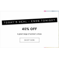 MYER - Daily Deal: Take a Further 40% Off Women's Footwear
