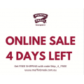 Muffin Break - Online Sale: Free Shipping on all Orders (code)! Today Only