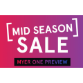 MYER - Mid Season Sale Preview: Up to 80% Off - Today Only
