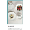 MYER - Flash Sale: 50% Off 1085+ Dinnerware Clearance Items - Starts Today