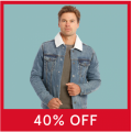 Myer - Flash Sale: 40% Off Men's Clearance Clothing Items - Starts Today