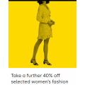 Myer - Take a Further Up to 40% Off Already Reduced Women's Clothing & More