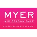 MYER - Mid Season Sale: Up to 50% Off 10000+ Items - Bargains from $1.77