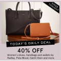 MYER - Daily Deal: 40% Off Women's Shoes, Handbags & Wallets - Today Only
