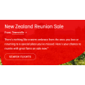 Qantas - New Zealand Reunion Sale: Fly to New Zealand from $249 - 48 Hours Only