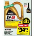 Autobarn - Nulon Longlife 5W30 5L Engine Oil $34.99 (Save $30)