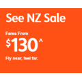 Jetstar - New Zealand Sale: Return Flight Fares from $199