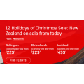 Qantas - New Zealand Christmas Sale: Up to 25% Off International Flight Fares! 3 Days Only