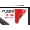 Autobarn - Garagetuff Fast Flow Funnel $1.99 (Save $3)