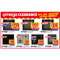 The Good Guys - Minimum 50% Off OMEGA Clearance Sale: Omega 60cm Electric Oven $277 (Was $999); Omega 60cm Pyrolytic Oven $449 (Was $1299) etc.