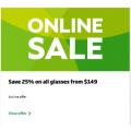 Specsavers - 25% Off All Glasses (code)! Minimum Spend $149