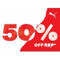 PUMA Factory Outlet - Weekend Sale: 50% Off Storewide [Fri, 2nd Oct - Sun 4th Oct, 2020]