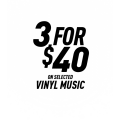 Ozgameshop - 3 for $40 on Selected Vinyl Music