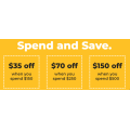 Petbarn - Spend & Save Offers: $10 Off $50 | $15 Off $75 | $25 Off $100 | $40 Off $150 | $70 Off $250 | $150 Off $500