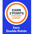 Big W - Woolworths Rewards Earn 2 Points Per $1