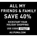 PUMA - Friends & Family Sale Further Markdowns: Up to 70% Off Clearance Items + Extra 40% Off (code)