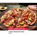 Dominos - App Exclusive Deal: Any Premium Pizza $7 Pick-Up via App (code) - Today Only