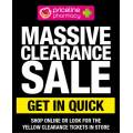 Priceline - Click Frenzy: Massive Clearance Sale (In-Store & Online)