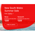 Qantas - Summer Sale: Domestic Flights from $99  e.g. Sydney to Gold Coast $99