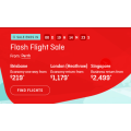 Qantas - Flash Flight Sale: Up to 30% Off Domestic & International Flights! Today Only
