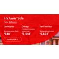 Qantas - Fly Away Sale: Up to 30% Off International Return Flight Fares