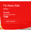 Qantas - Fly Away Sale: Up to 30% Off International Return Flight Fares - 3 Days Only