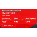 Qantas - Fly Asia Sale: Up to 25% Off International Return Flights! Today Only