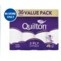 Chemist Warehouse - Quilton Toilet Tissue 36 Pack $13.99 (Was $16.99)! In-Store Only