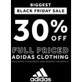 Rebel Sports - Black Friday 2020 Sale: 30% Off Full Priced Adidas Clothing / Buy 1 Get 1 50% Off Footwear etc.