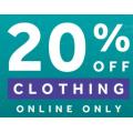 Rebel Sports - AfterPay Sale: 20% Off Clothing [Adidas, Nike, Reebok, Puma, Asics, New Balance, Champion etc.]