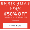 RedBalloon - Up to 50% Off Experiences + Extra 15% Off (code)