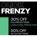 Reebok - Click Frenzy 2019: Take a Further 30% Off Everything (code)