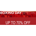 Reebok's Boxing Day Sale 2019: Up to 70% Off Storewide + Free Shipping (code) e.g. Accessories $5; Footwear $10; Tees $14 etc.