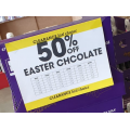 Reject Shop - 50% Off Easter Chocolate (In-Store Only)