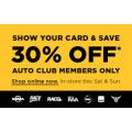 Repco - Weekend Sale: 30% Off Storewide (Sat 14th & Sun 15th Dec)