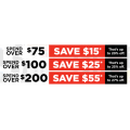 Repco - Spend & Save Offers: $15 Off $75 | $25 Off $100 | $55 Off $200 Spend