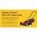 eBay - Super Sale: 20% Off 116+ Retailers (code)! Max Discount $300
