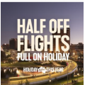REX Airlines - Half Price Flights Sale: 50% Off One-Way Domestic Flight Fares e.g. Sydney to Gold Coast $55 etc.