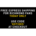 PUMA - Free Express Shipping for Richmond Fans (code)! Today Only