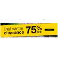 Rivers - Final Winter Clearance: Up to 75% Off RRP e.g. Textured Flece Funnel Roll Neck $11.95 (Was $59.99) etc.