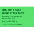 eBay - Tech Sale: 10% Off Orders - Minimum Spend $100 (code)! Plus Members Only