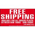 FREE Shipping @ Sanity