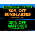 12 Days of CATCHmas: DAY 2: Get 30% OFF Sunglasses & 20% OFF Watches @ COD [Expired]