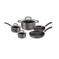 TEFAL 5pc  Inspire Hard Anodised Cookset $99 (RRP $399) @ Harrisscarfe 48 Hour Sale
