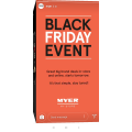 Myer- Black Friday Event - Starts Fri, 23rd Nov [In-Store & Online]