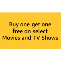 Amazon - Buy 1, Get 1 Free from Select Movies and TV Titles(From 2 for $5) + Free Shipping (Prime)